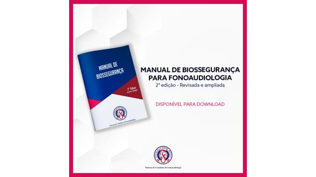 Manual de Biossegurança para o serviço fonoaudiológico